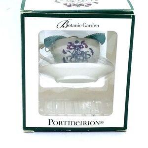 Portmeirion BOTANIC GARDEN Ornament Teacup Saucer